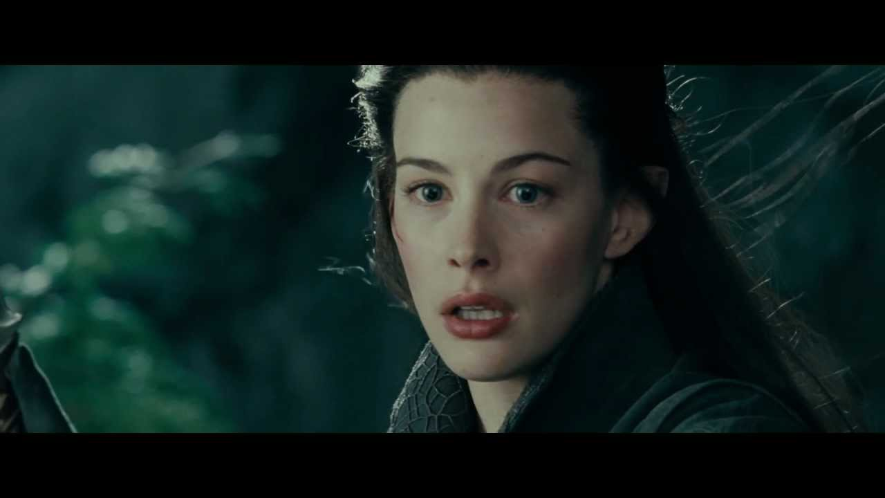 Wallpaper Hd Lord Of The Rings Lotr The Fellowship Of The Ring Arwen Escape Youtube