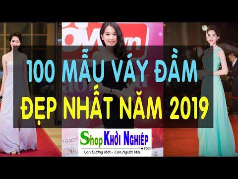 VÁY ĐẦM ĐẸP GIÁ RẺ  - 100 Mẫu Váy đầm đẹp Nhất 2019 | Shop Khởi Nghiệp
