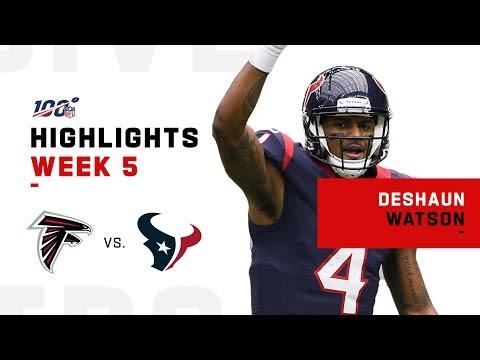 Deshaun Watson Pops Off for 400+ Yds & 5 TDs! | NFL 2019 Highlights