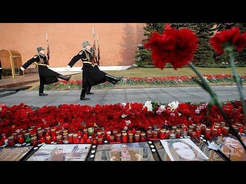 Первые похороны погибших во время взрыва в Санкт-Петербурге