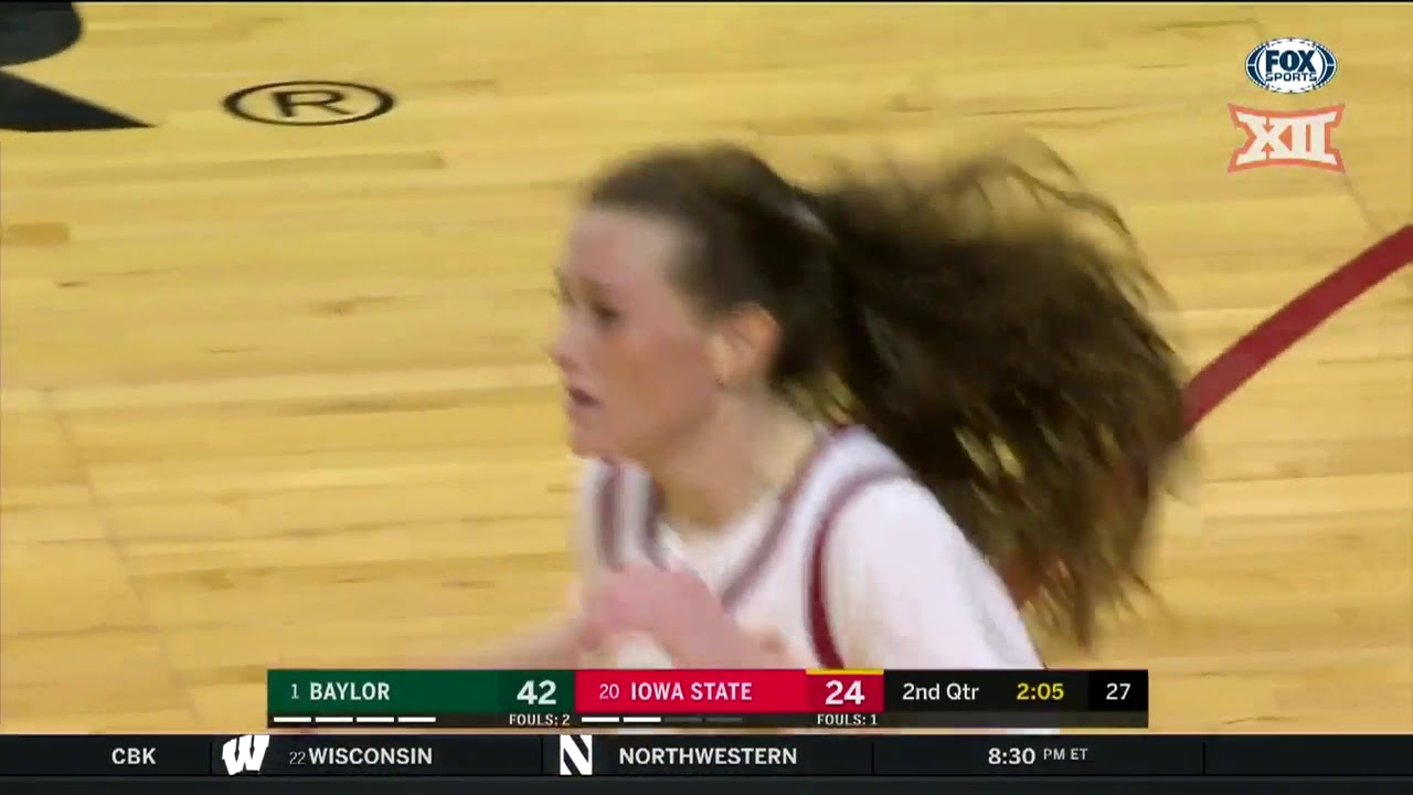 Baylor vs Iowa State Women's Basketball Highlights - YouTube