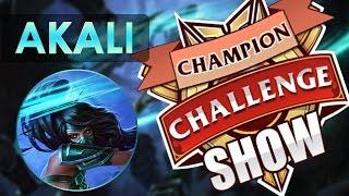 CHAMPION CHALLENGE SHOW | AKALI #3 LA MAGIA DEL CCS Y BRONZALI