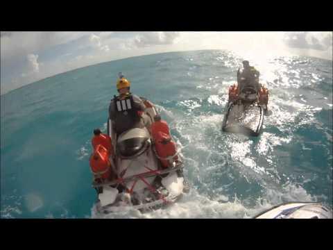 2013 Never Quit Challenge Combat Wounded JET SKI Florida Keys Ride