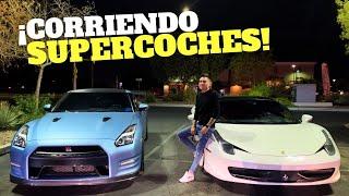 ¡C0RRIENDO SUPERCOCHES EN LAS VEGAS! | ManuelRivera11