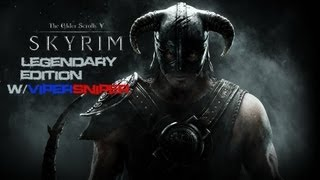 Skyrim Legendary Edition Gameplay : Episode 1 : The Same Old Start...