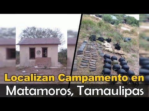 Tumban Campamento del Cartel Del Golfo en Matamoros Tamaulipas (fotos y videos)