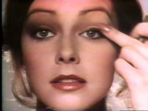 maybelline eye writing makeup commercial 1978 youtube