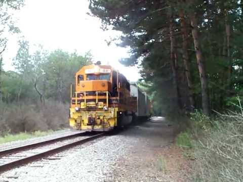 Buffalo & Pittsburgh Railroad on Shawmut switch at Dellwood on September 9, 2011 - Part 1