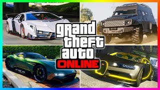 10 VEHICLES YOU ABSOLUTELY MUST OWN IN GTA ONLINE! (GTA 5 BEST CARS \u0026