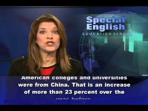 Record Number of Chinese Students in US