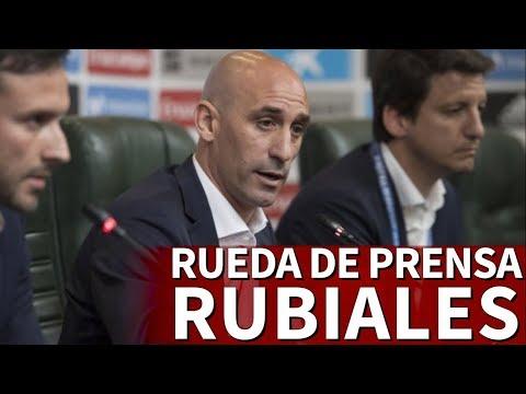 Nuevo seleccionador| Rueda de prensa Rubiales anuncia director deportivo I Diario AS