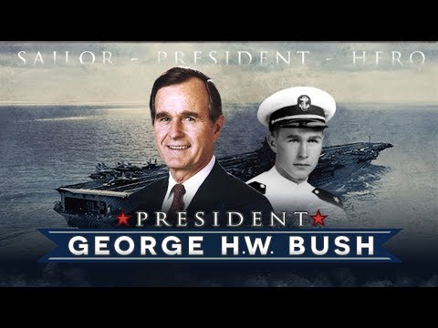 President George H W Bush S Naval Service Youtube