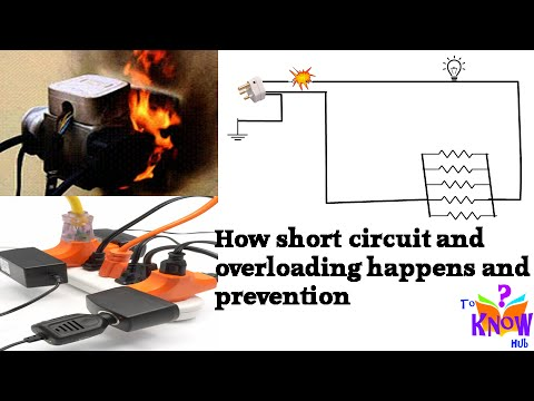 Electricity - Why & How short circuit and Overloading occur and how to prevent