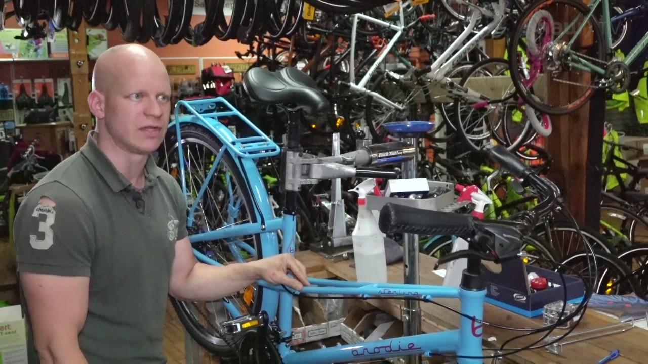 Bike Maintenance With Mike Collins Of The Broken Spoke Youtube