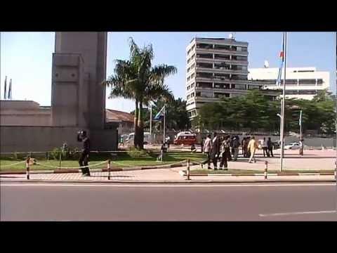 La place de la gare à Kinshasa, février 2013