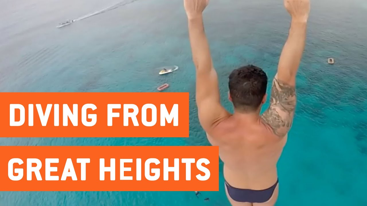 Insane High Dives | Such Great Heights