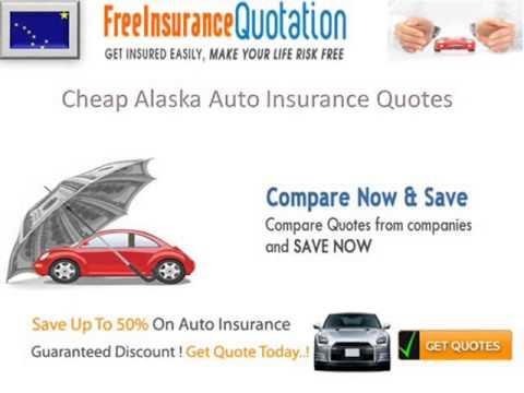 Alaska Auto Insurance Company - Cheap Alaska Auto Insurance Rates