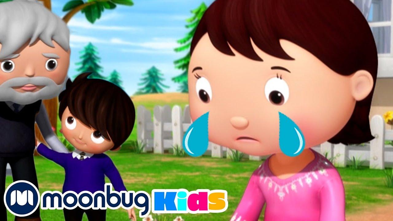 Accidents Happen Song  + More Little Baby Bum Songs | Kids Cartoons & Nursery Rhymes | Moonbug Kids