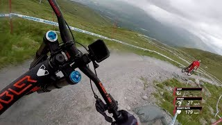 Claudio & Jack Moir Rip the Fort William DH Track | UCI Mountain Bike World Cup 2017