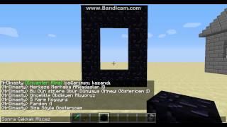 Minecraft Öbür Dünyaya Gitme.