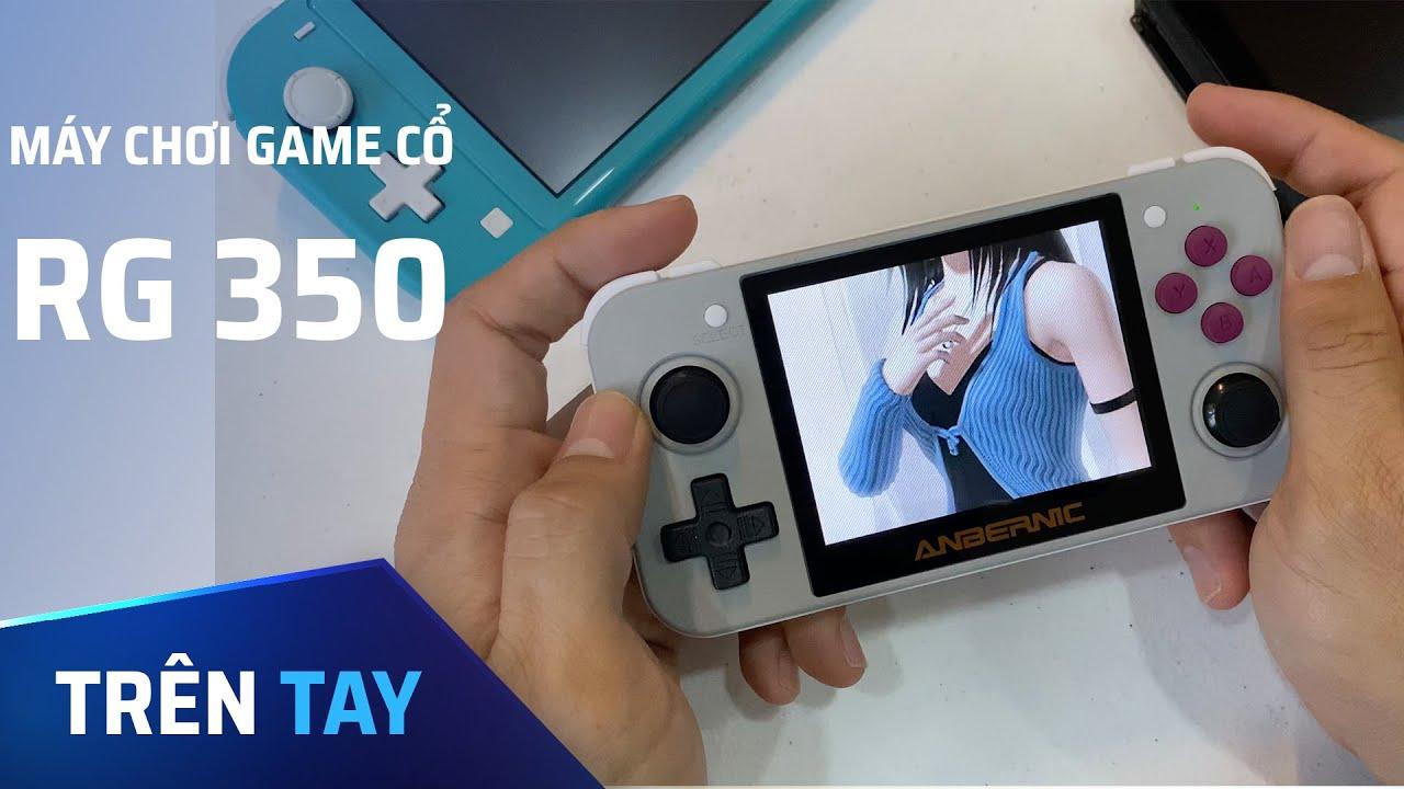 Máy chơi game cổ RG 350, chơi hàng nghìn game từ NES tới PS1