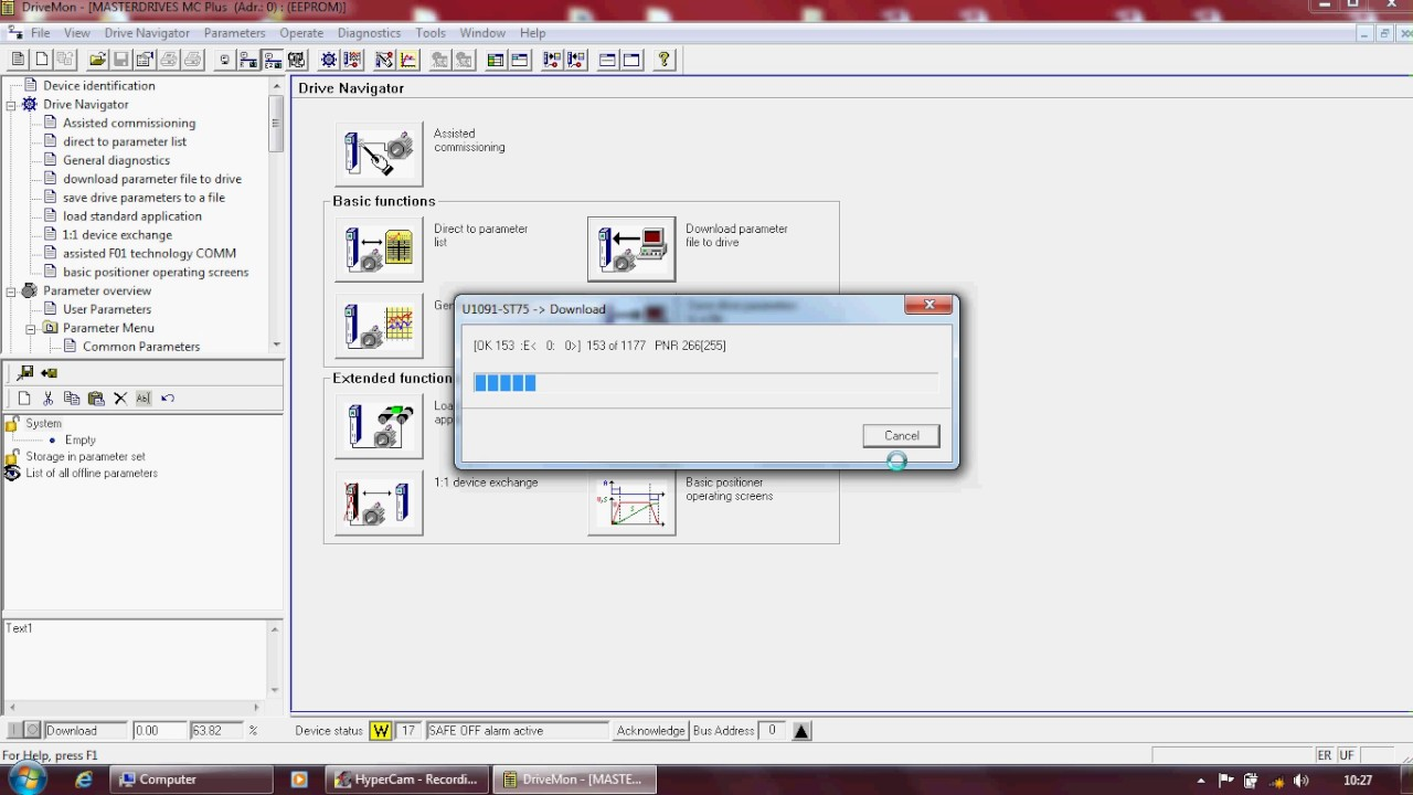 maxresdefault siemens backup installation on masterdrive drives youtube siemens micromaster 420 wiring diagram at mifinder.co