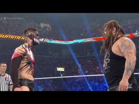 Download Finn Balor (Demon King) VS Bray Wyatt Summerslam 2017 Highlights