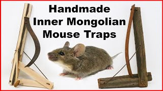 Handmade Inner Mongolian Mouse Traps. Mousetrap Monday