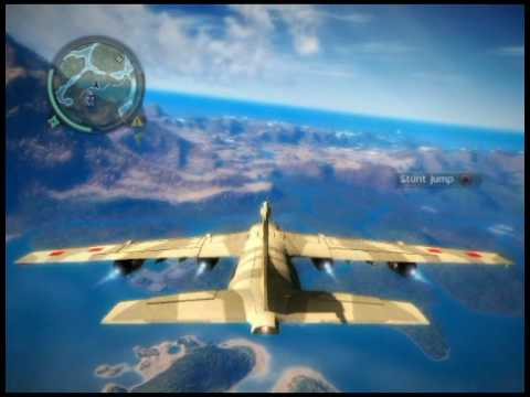 just cause 3 how to ride planes
