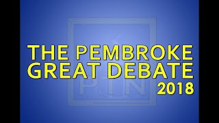 The Pembroke Great Debate 2018- Part 1, Candidates for Selectman