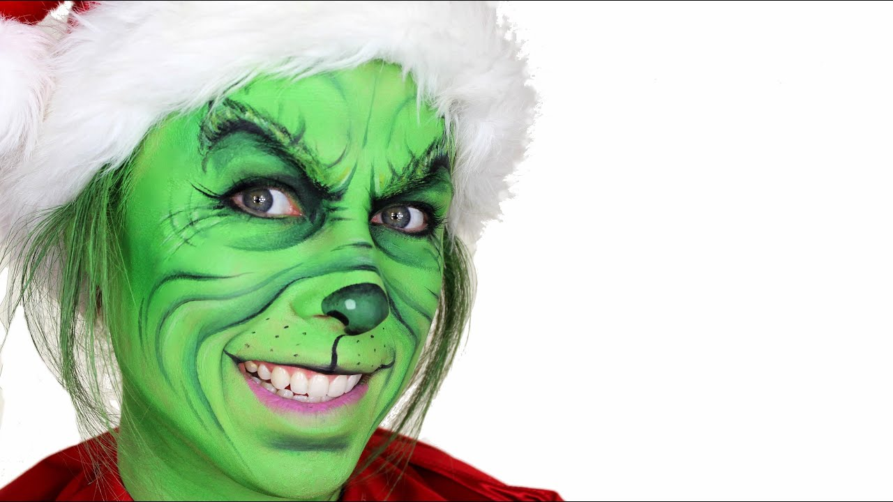 The grinch christmas makeup tutorial youtube solutioingenieria Image collections