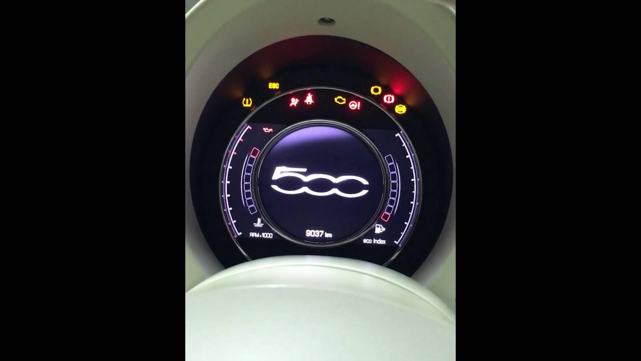 Installazione Quadro Strumenti Versione Restyling Fiat 500
