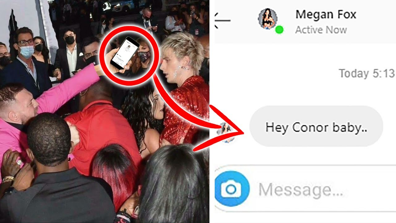 Conor McGregor Might Be Cheating With Megan Fox As He Slides Into Her DM