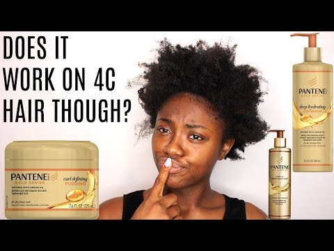 NATURAL HAIR| PANTENE GOLD SERIES REVIEW (The REAL🐸☕️)
