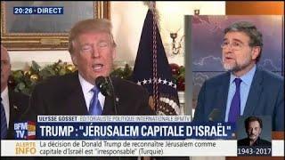 Ce qu'il faut savoir de la reconnaissance par Trump de Jérusalem comme capitale d'Israël par Trump