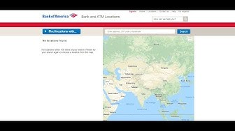 Bank of America Locations Near Me | Bank of America ATM Locator