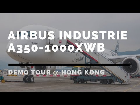 Airbus Industrie A350-1000 XWB Middle East & Asia Pacific Demonstration Tour