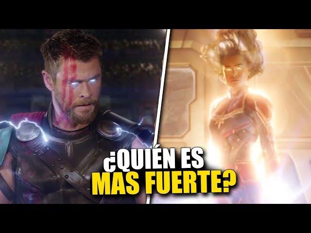 ¿Quien es el Vengador MAS FUERTE? Todos Los Vengadores ordenados por NIVEL DE PODER #2