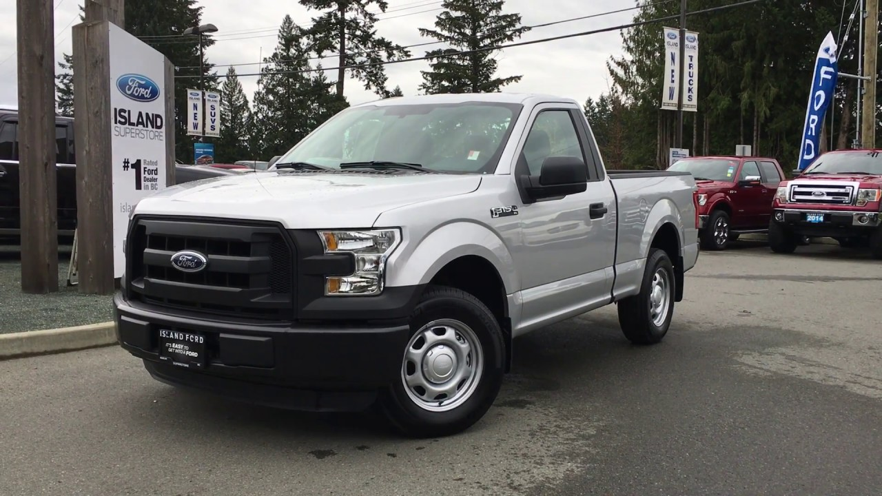 2016 Ford F 150 XL RegularCab 4X2 W Easy Clean Floors Review