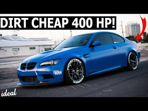 5 Dirt Cheap Cars With 400HP!