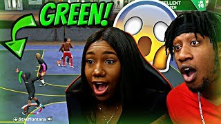 I Let My WIFE CREATE MY JUMPSHOT! Look At ALL THESE GREENS OMFGGGG!! - NBA 2K19 MyPARK