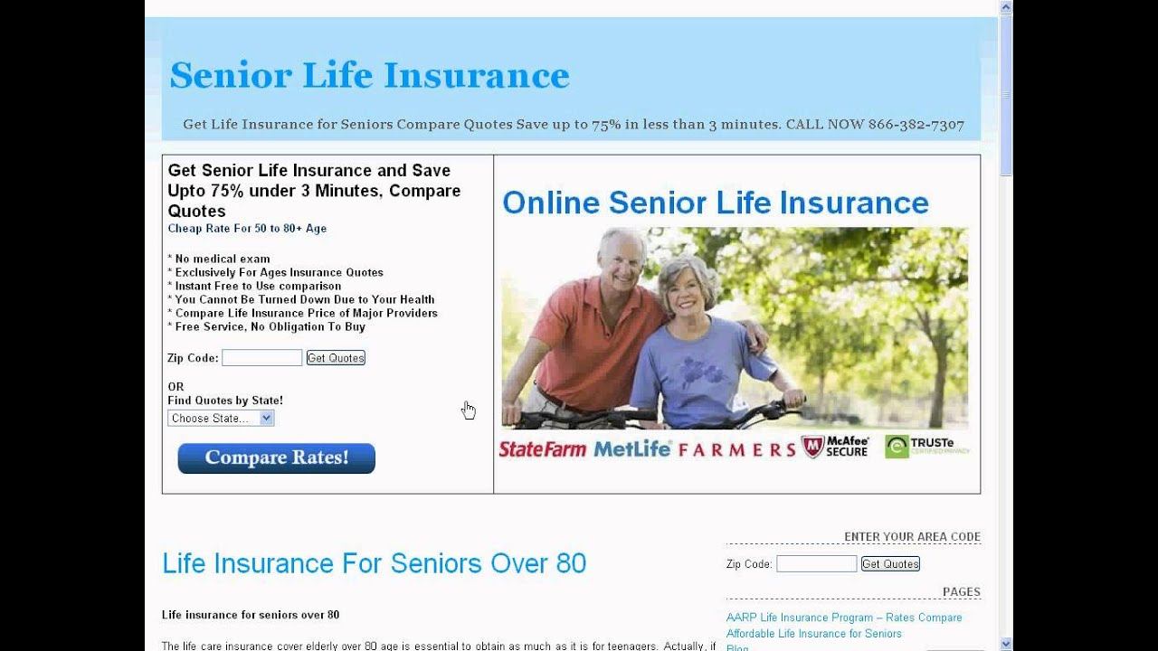 Affordable Life Insurance Quotes Online Unique What Type Of Life Insurance Should A 80 Year Old Have Find More
