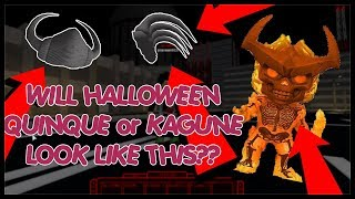 WILL THIS BE THE NEW HALLOWEEN QUINQUE/ KAGUNE? Ro-Ghoul | Roblox