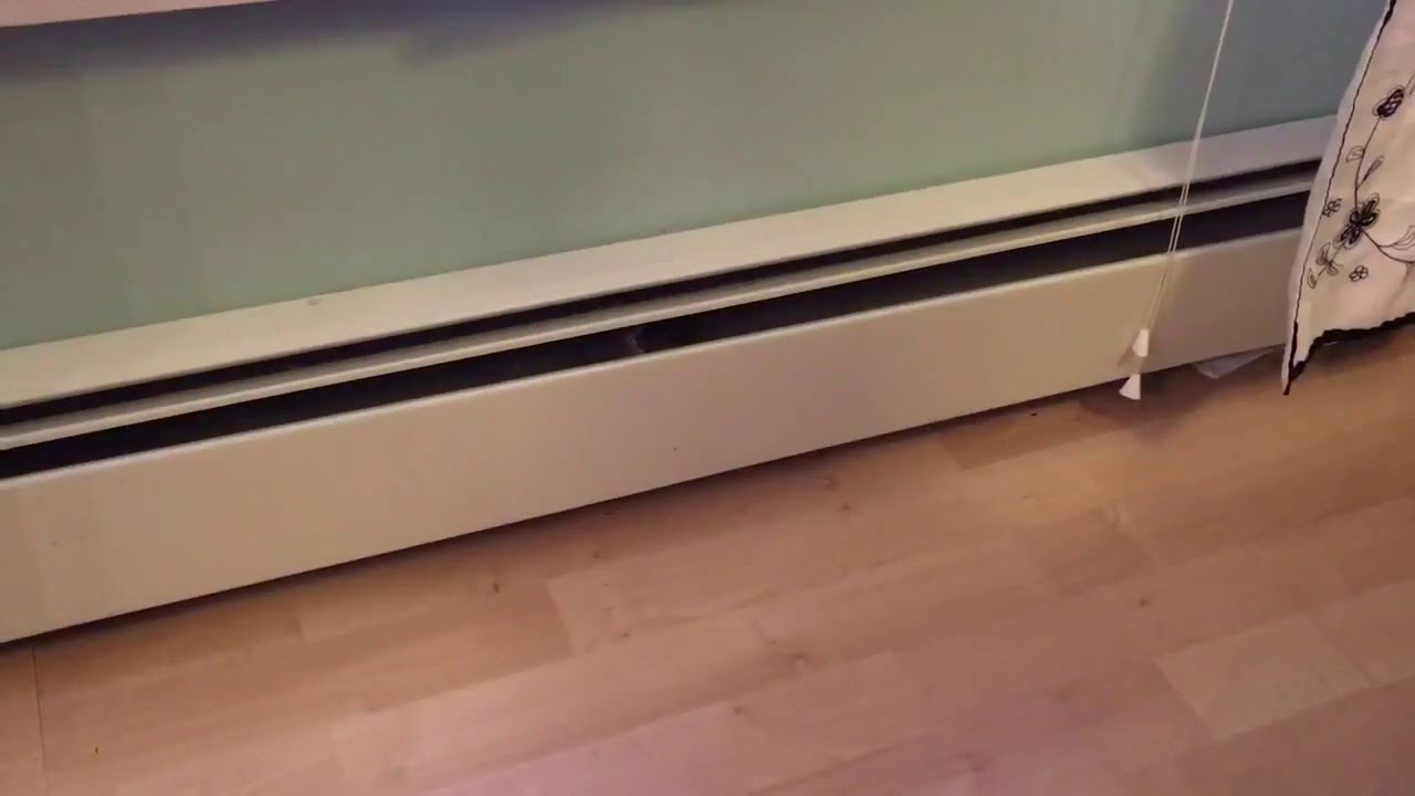 How To Bleed Trapped Air From Baseboard Heater YouTube - Under floorboard heating