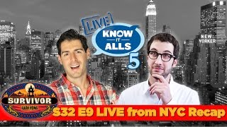 Survivor Know It Alls | Kaoh Rong Episode 9 Recap LIVE from NYC