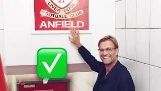 """Why Jürgen Klopp Is Letting His Players Touch The """"this Is Anfield"""" Sign Again 