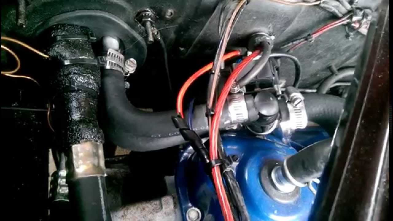 65 Mustang Old Air Heater Hose Routing  YouTube