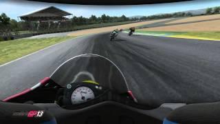 MotoGP13 Gameplay trailer 04 Le Mans