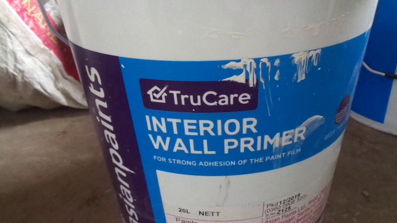 Asian Paints Interior And Exterior Wall Primer 20 Ltr Price Youtube