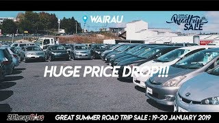 2 Cheap Cars Wairau Great Summer Road Trip Sale is on this weekend!